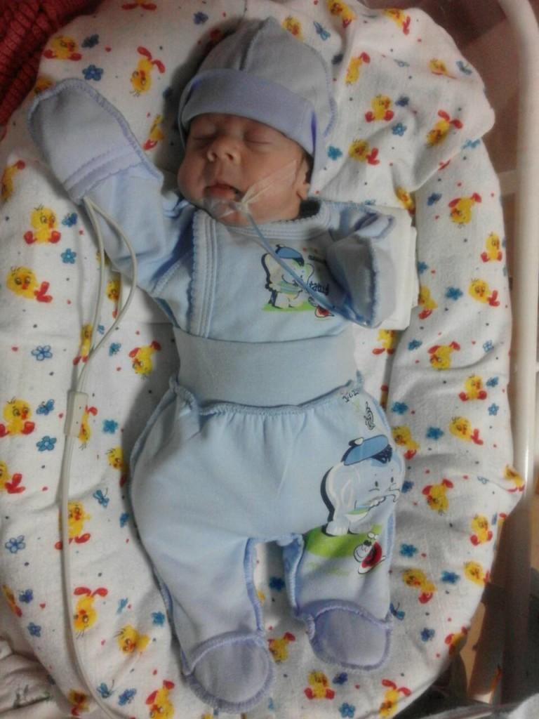 КРЕМЕНЧУГ. Отдел семьи собрал деньги для лечения преждевременно рожденного ребенка