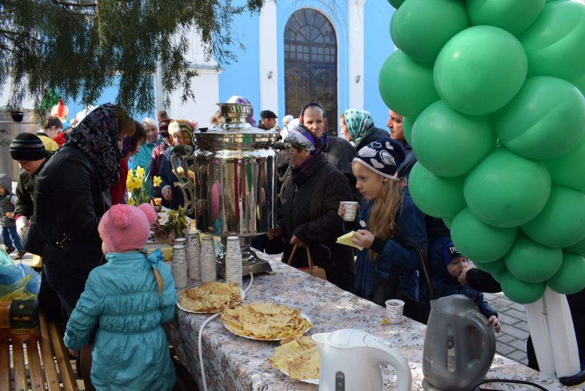 ДЖАНКОЙ. Семейный отдел провел чаепитие перед началом Поста