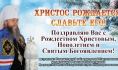 Рождественское поздравление Главы Миссии Синодального отдела УПЦ по делам семьи